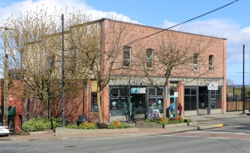 341 1st Avenue in downtown Ladysmith, built in 1910.