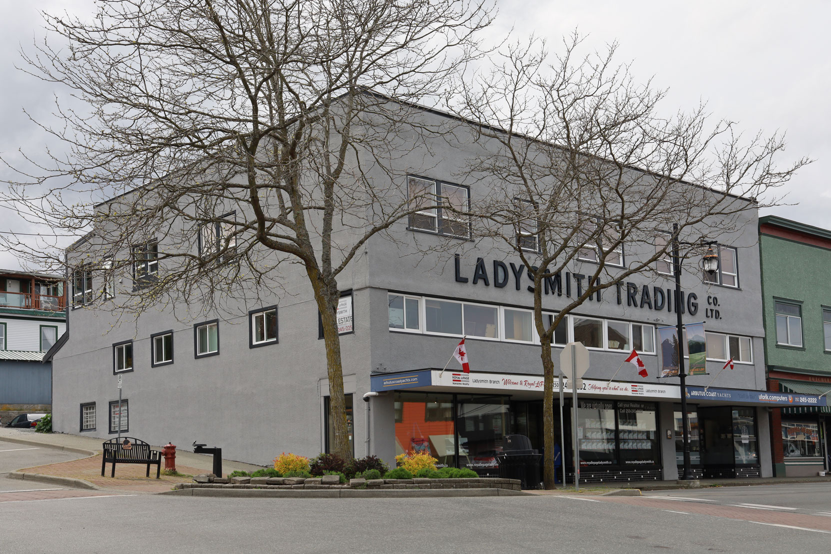 410 1st Avenue in downtown Ladysmith.