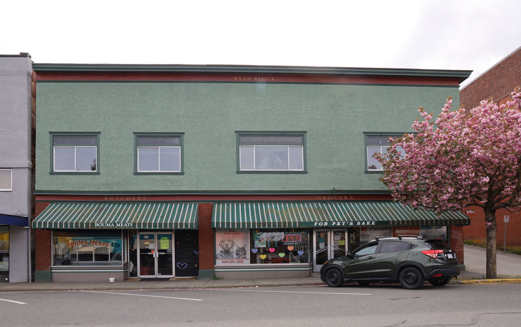 412 1st Avenue in downtown Ladysmith.