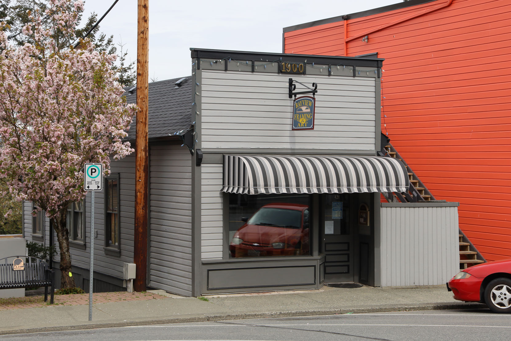 421 1st Avenue in downtown Ladysmith.