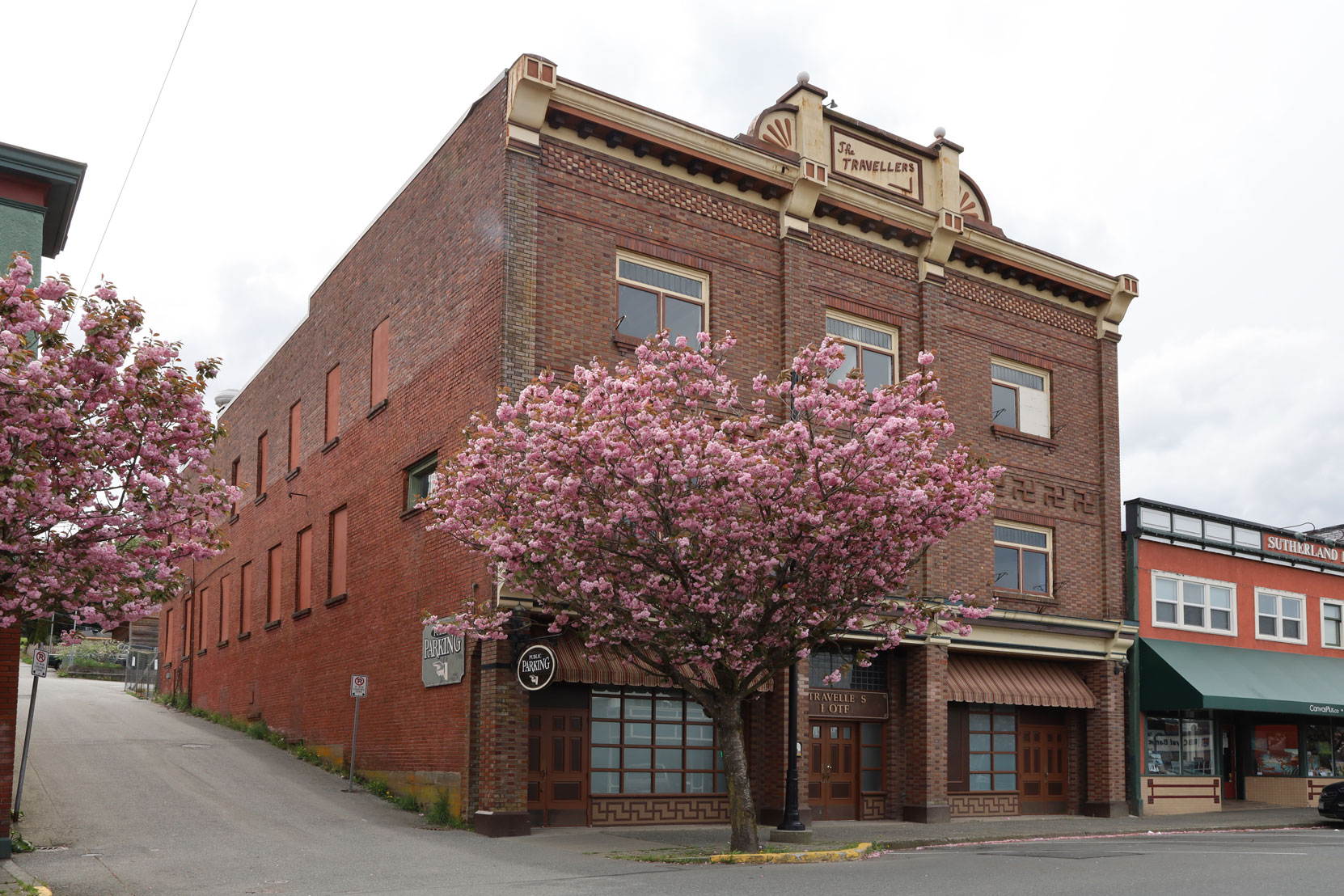 The Travellers Hotel, 422 1st Avenue in downtown Ladysmith.