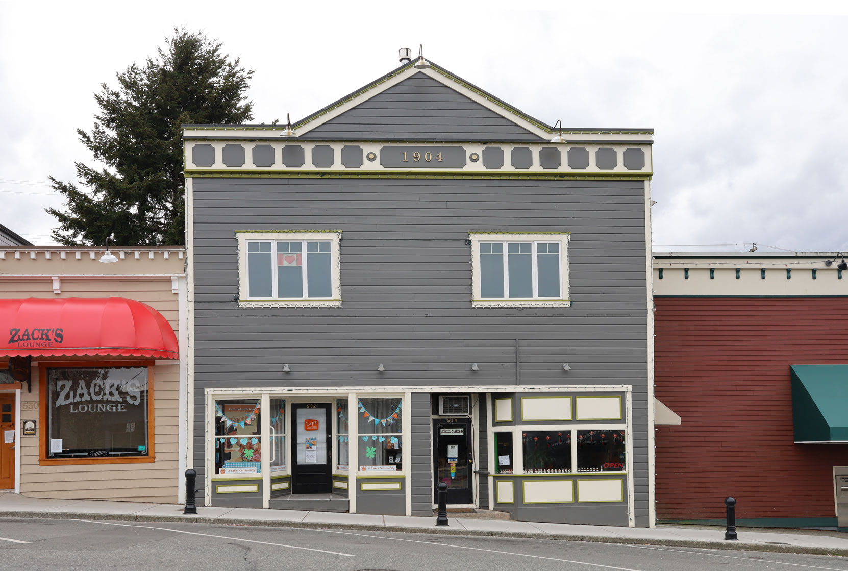 532-534 1st Avenue in downtown Ladysmith.