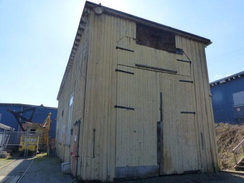 Loci 11 shop, Comox Logging & Railway Co.