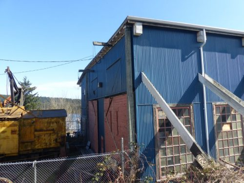 historic Comox Logging Machine Shop