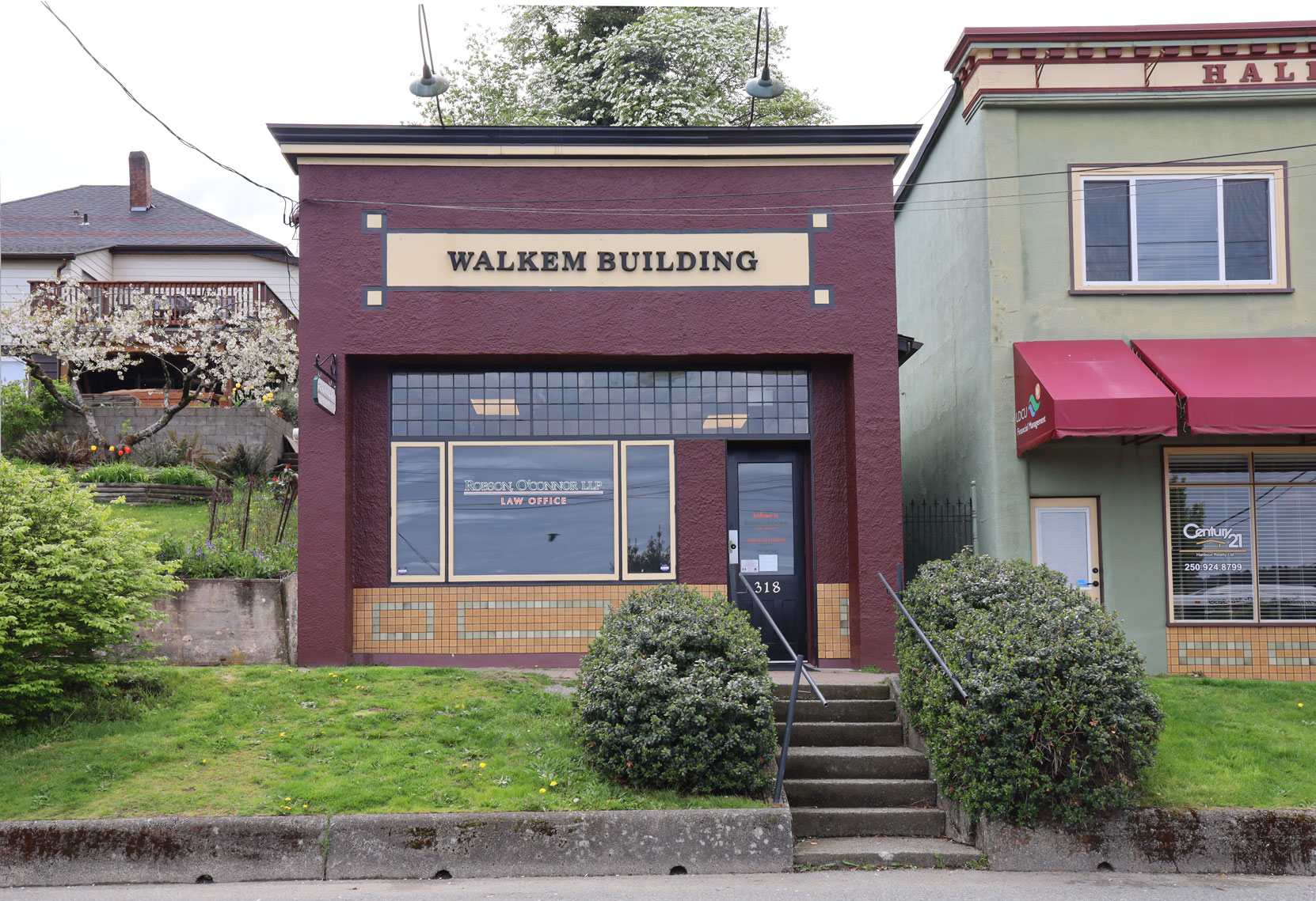 The Walkem Building, 318 1st Avenue in downtown Ladysmith.