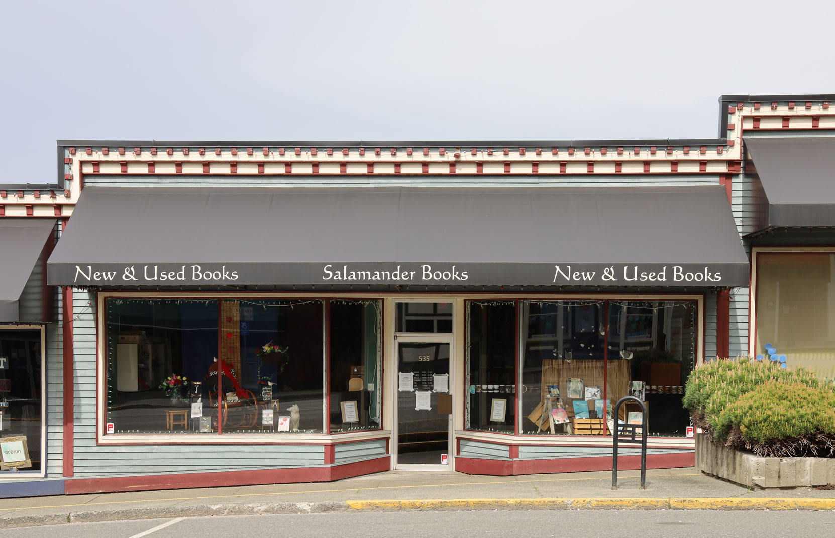 535 1st Avenue in downtown Ladysmith is one of four store fronts in a building originally built in 1945.