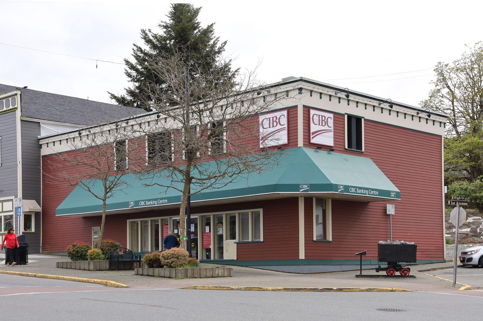 CIBC, 540 1st Avenue in downtown Ladysmith, B.C.