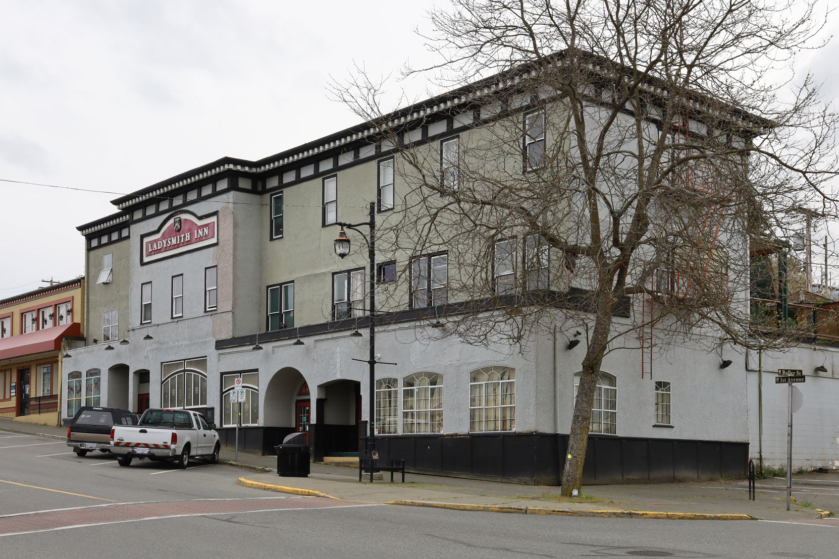 Ladysmith Inn, 640 1st Avenue in downtown Ladysmith, B.C.