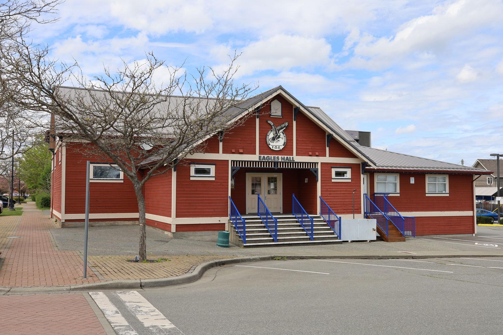 The Fraternal Order Of Eagles (F.O.E.) Hall, 921 1st Avenue, Ladysmith, B.C.