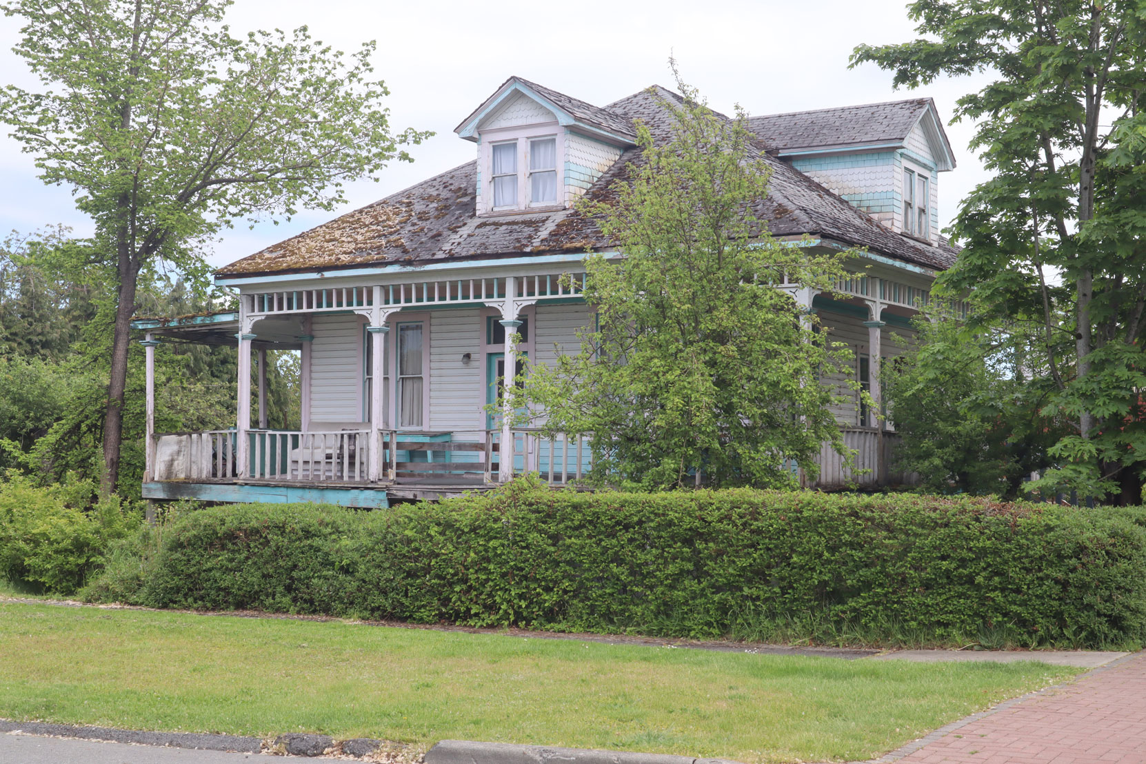 941 1st Avenue, near downtown Ladysmith, was built in 1905.