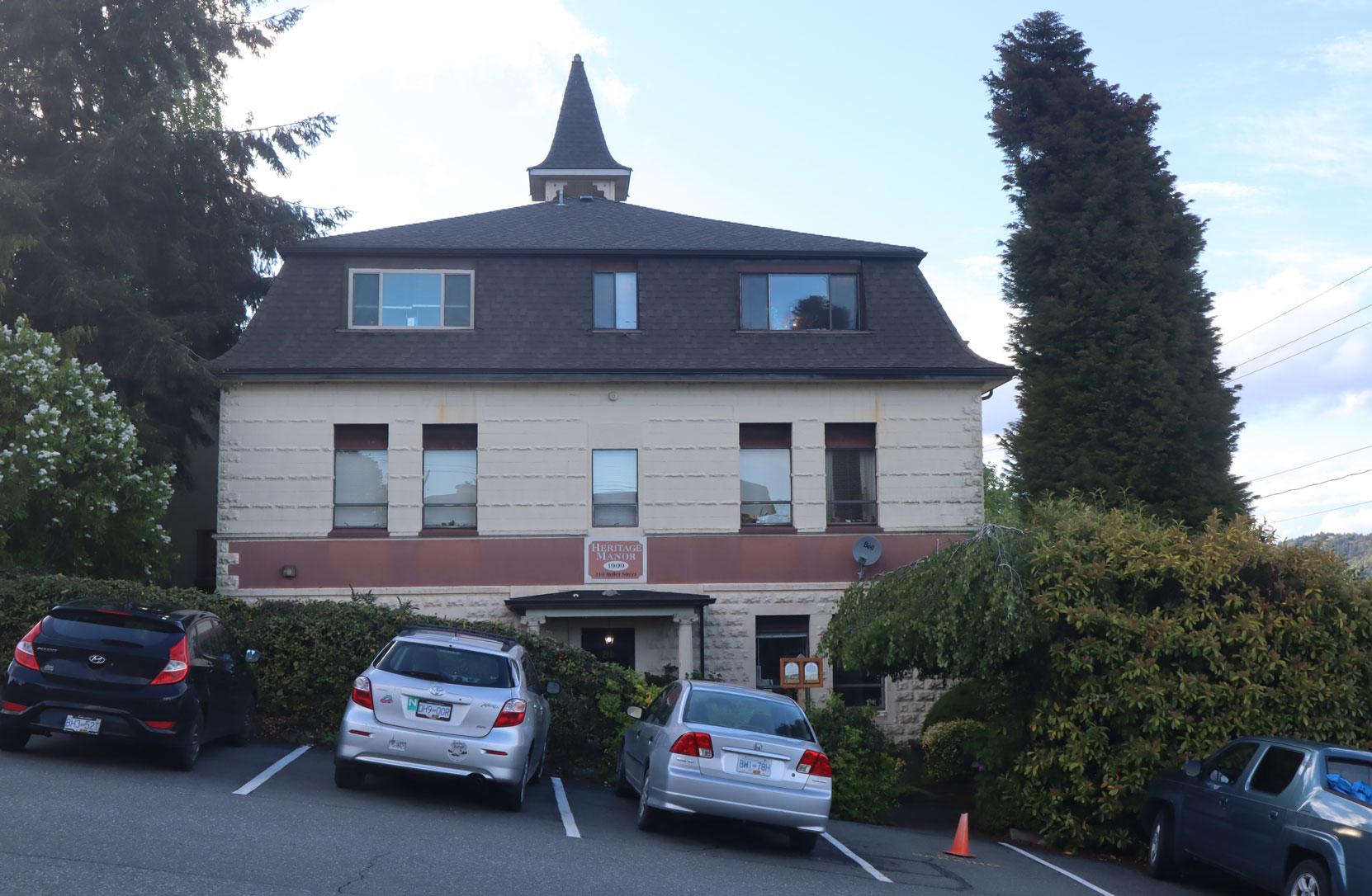 The former Convent School, 210 Buller Street, Ladysmith, B.C.