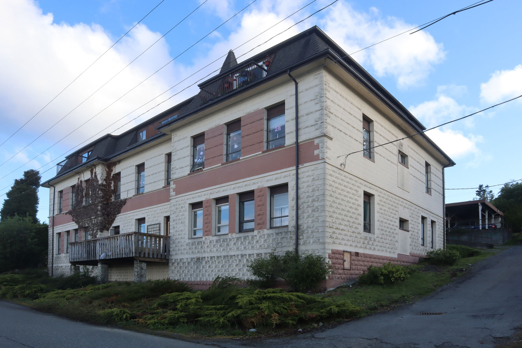 The former Convent School, 210 Buller Street, Ladysmith, B.C.