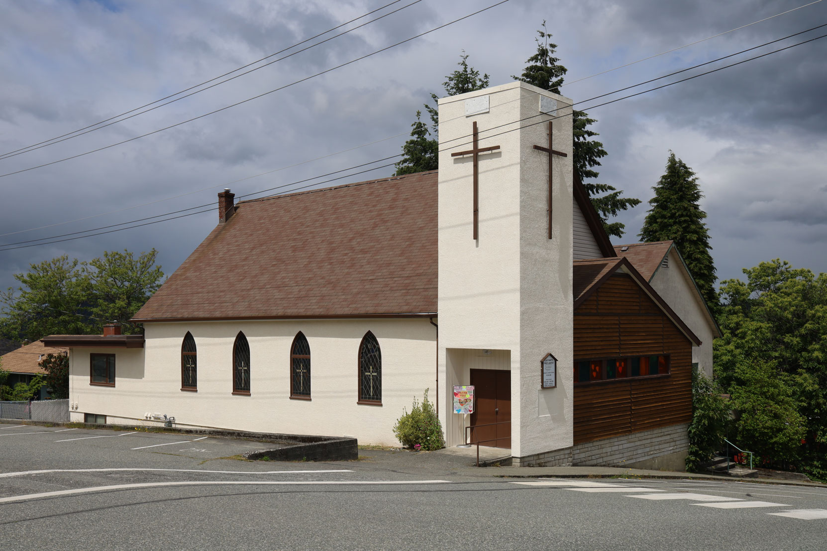 Ladysmith United Church, 232 High Street, built in 1950. (photo: Mark Anderson)