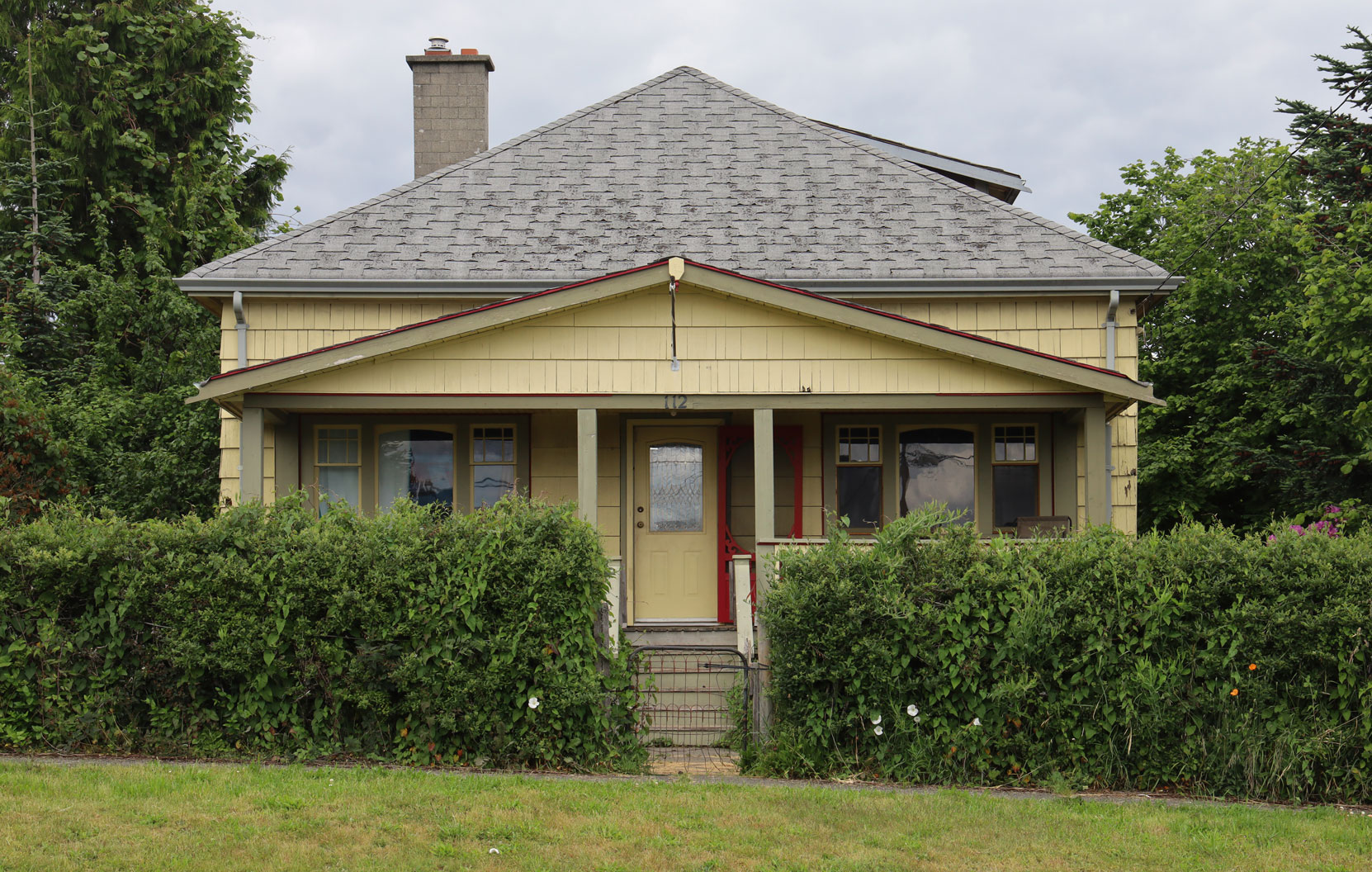 112 Methuen Street, Ladysmith, BC, built in 1910,