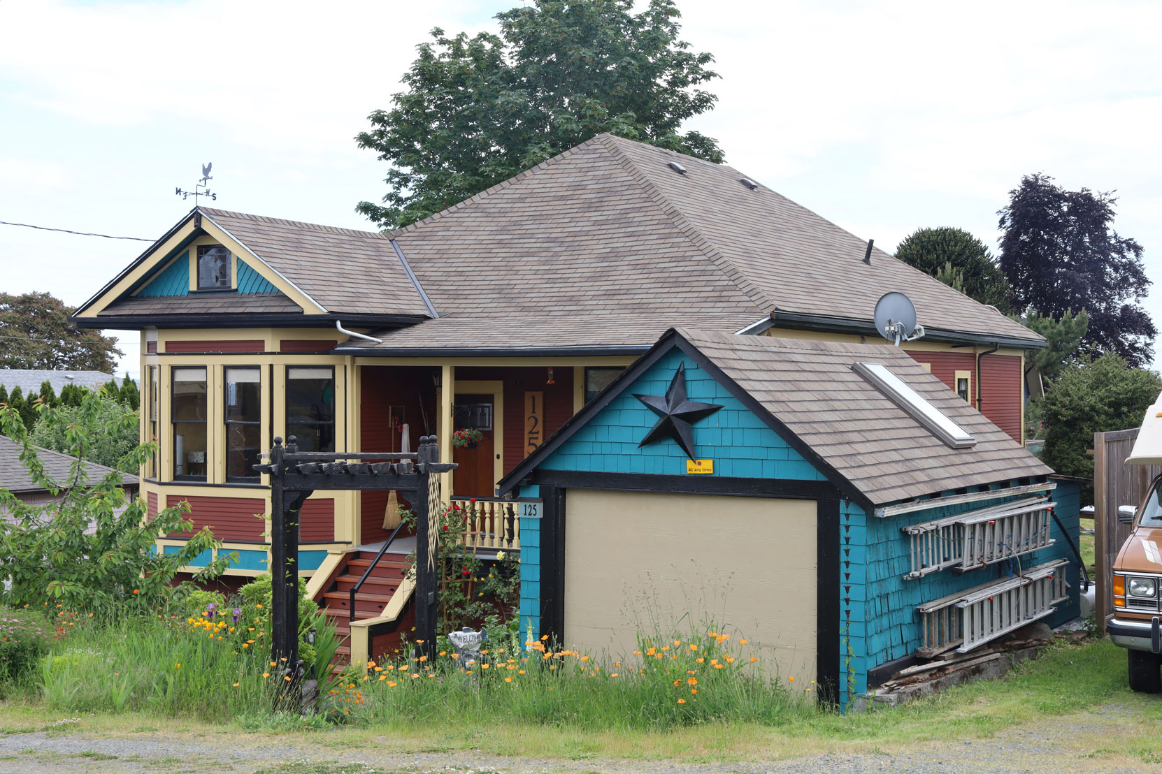 125 Methuen Street, Ladysmith, BC, built in 1901.