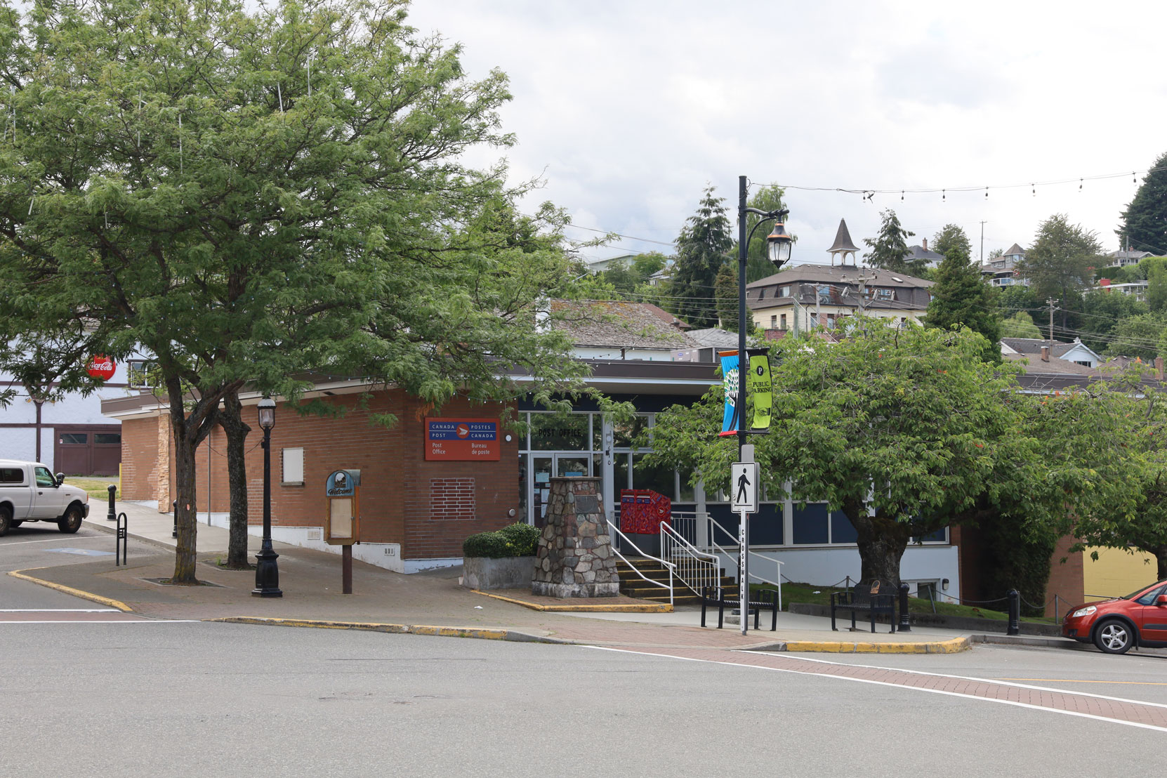 The Post Office, 610 1st Avenue in downtown Ladysmith. (photo: Mark Anderson)