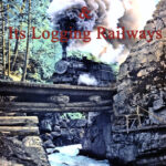 Robert Macham, Chemainus & Its Logging Railways, book cover. This book is available through the Ladysmith & District Historical Society.
